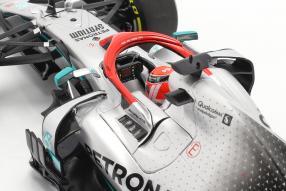 modelcars Lewis Hamilton Mercedes-AMG F1 W10 Monaco GP F1 2019 1:18 Minichamps mit Klappbox