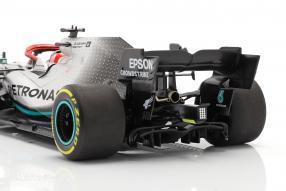 Modellautos Lewis Hamilton Mercedes-AMG F1 W10 Monaco GP F1 2019 1:18 Minichamps mit Klappbox