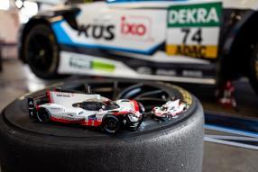 diecast miniatures Porsche 919 hybrid No. 2 winner Le Mans 2017 1:43 1:18 Ixo