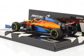 McLaren MCL35 Austrian GP 2020 1:43 Minichamps