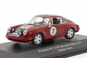 Porsche 911 S Bavaria Rallye 1970 Röhrl 1:43
