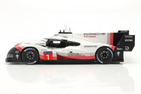 modelcars Porsche 919 Hybrid Evo #919Tribute 1:18 Ixo