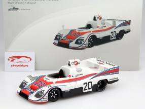 Porsche 936 #20 3rd World Sports Car Championship 1976 Ickx 1:18 TrueScale