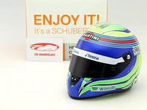 Felipe Massa Williams FW38 formula 1 2016 helmet 1:2 Schuberth