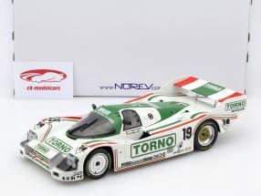 Porsche 962 C #19 3º 1000km Mugello 1985 Bellof, Boutsen 1:18 Norev