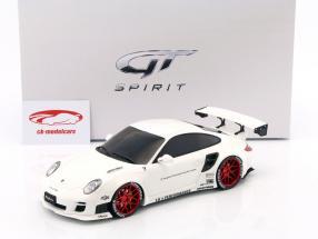 Porsche 911 (997) LB Performance year 2010 white 1:18 GT-SPIRIT