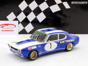 Ford Capri RS 2600 #1 Winner BRNO ETC 1972 Glemser 1:18 Minichamps