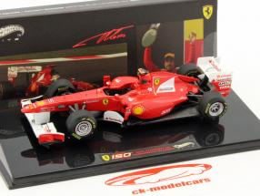 F. Alonso Ferrari 150° Italia GP Turkey formula 1 2011 1:43 HotWheels Elite