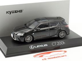 Lexus CT 200h Sport graphite noir 1:43 Kyosho