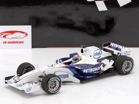 Alessandro Zanardi Sauber BMW C24B novembre test Valencia formule 1 2006 1:18 Minichamps