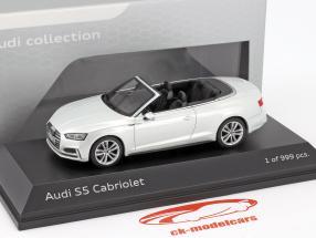 Audi S5 Cabriolet year 2016 tofana white 1:43 Paragon Models