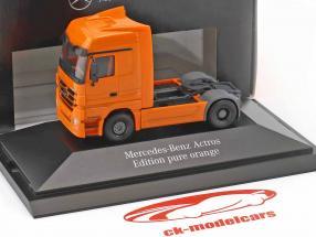 Mercedes-Benz Actros IAA 2010 orange 1:87 Herpa
