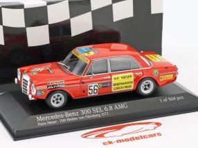 Mercedes-Benz 300 SEL 6.8 AMG #56 200 miles Nürnberg 1972 Heyer 1:43 Minichamps