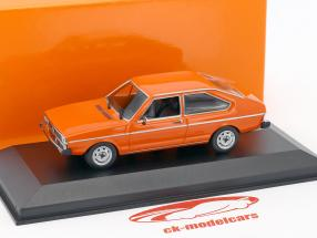 Volkswagen VW Passat year 1975 orange 1:43 Minichamps