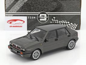 Lancia Delta HF Integrale 16V year 1990 gray metallic 1:18 Triple9