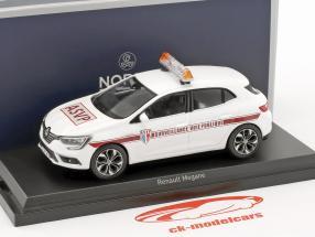 Renault Mégane ASVP Baujahr 2016 weiß 1:43 Norev