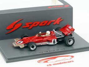 John Miles Lotus 72B #6 britannico GP formula 1 1970 1:43 Spark