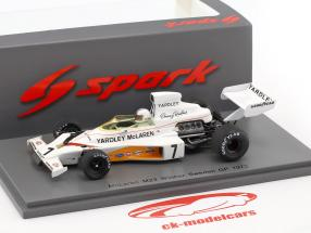 Denis Hulme McLaren M23 #7 Winner Swedish GP Formel 1 1973 1:43 Spark