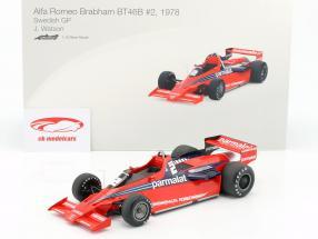 John Watson Brabham BT46B #2 Sweden GP formula 1 1978 1:18 TrueScale