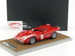 Abarth 2000 SP #9 Mugello GP 1970 Vaccarella 1:18 Tecnomodel