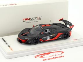 McLaren P1 GTR #13 dark gray / orange 1:43 TrueScale
