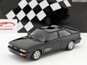 Audi Quattro year 1980 black metallic 1:18 Minichamps