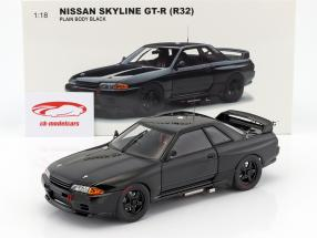 Nissan Skyline GT-R (R32) year 1992 Plain body version black 1:18 AUTOart