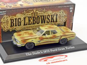 The Dude's Ford Gran Torino Baujahr 1973 Film The Big Lebowski (1998) braun / beige 1:43 Greenlight
