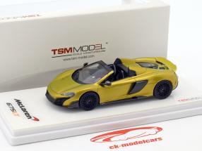 McLaren 675LT Spider gold 1:43 TrueScale