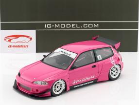 Pandem Civic (EG6) rosa 1:18 Ignition Model