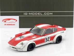 LB-Works Fairlady Z (S30) #52 rouge / blanc 1:18 Ignition Model