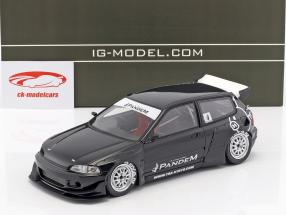Pandem Civic (EG6) blue 1:18 Ignition Model
