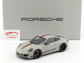 Porsche 911 (991) Carrera GTS With Showcase gray / red 1:18 Spark