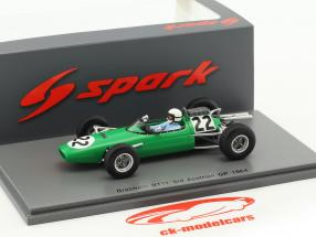 Bob Anderson Brabham BT11 #22 3 Autriche GP formule 1 1964 1:43 Spark