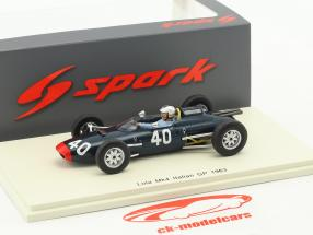 Mike Hailwood Lola Mk4 #40 Italy GP formula 1 1963 1:43 Spark