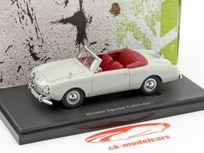 Beutler Spezial Cabriolet Baujahr 1953 grau 1:43 AutoCult