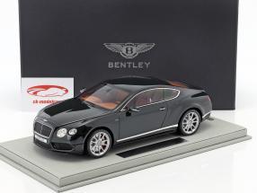 Bentley Continental GT V8 S sombre gris métallique 1:18 BBR
