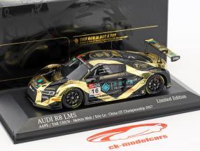 Audi R8 LMS #16 porcellana GT campionato 2017 Tarmac fabbrica 1:43 Minichamps