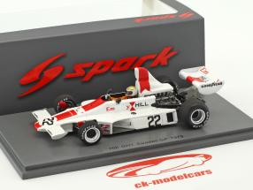 Vern Schuppan Hill GH1 #22 suédois GP formule 1 1975 1:43 Spark