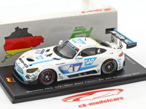 Mercedes-Benz AMG GT3 #1 24h Nurburgring 2017 Team Black Falcon 1:43 Spark