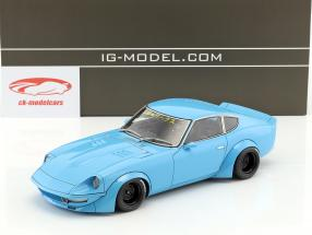 LB-Works Nissan Fairlady Z (S30) azzurro 1:18 Ignition Model