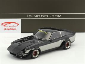 LB-Works Nissan Fairlady Z (S30) noir métallique 1:18 Ignition Model