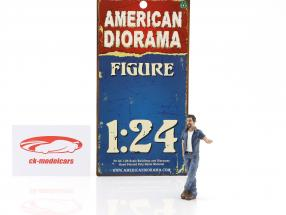 hanging Out Mark figure 1:24 American Diorama
