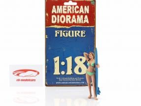 surfer Paris figure 1:18 American Diorama