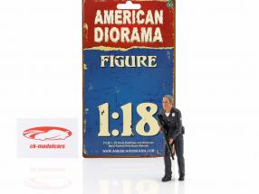 Police Officer II Figur 1:18 American Diorama