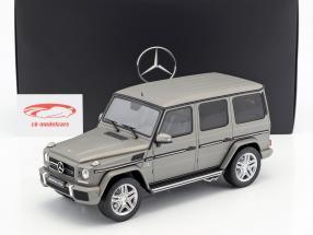 Mercedes-Benz AMG G 63 year 2017 aluminum silver 1:18 GT-Spirit