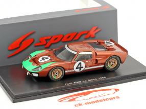 Ford GT40 MKII #4 24h LeMans 1966 Donohue, Hawkins 1:43 Spark
