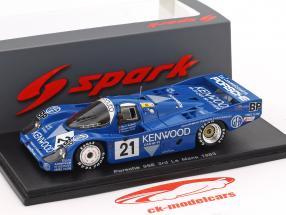 Porsche 956 #21 3 24h LeMans 1983 Andretti, Andretti, Alliot 1:43 Spark