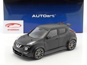 Nissan Juke R 2.0 année de construction 2016 natte noir 1:18 AUTOart