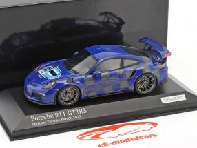 Porsche 911 (991) GT3 RS Spokane Porsche Parade 2017 blu 1:43 Minichamps
